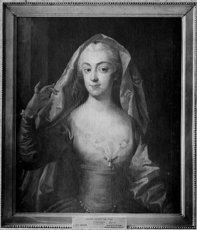 Hedvig Reuterholm, 1719-1741, gift med landshövdingen friherre Daniel Tilas