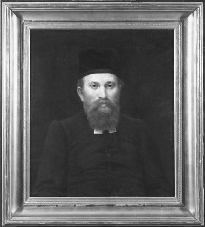 Gottlieb Klein, 1852-1914, överrabbin, religionshistoriker, gift med Antonie Levy