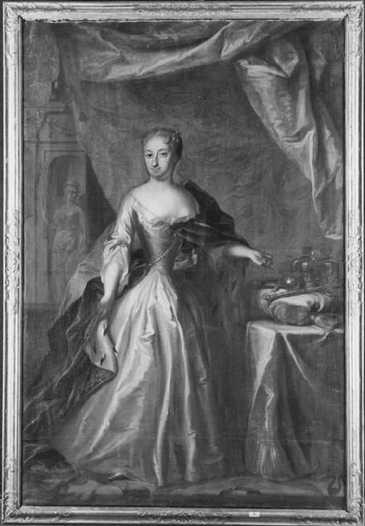 Ulrika Eleonora d.y. (1688-1741), drottning av Sverige, gift med Fredrik I av Sverige