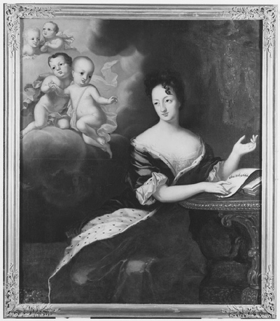 Image from object titled Ulrika Eleonora the Elder (1656-1693), Princess of Denmark, Queen of Sweden, and her four deceased sons