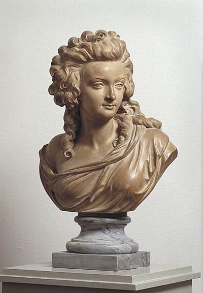Portrait of a Woman, probably Flore de Pajou