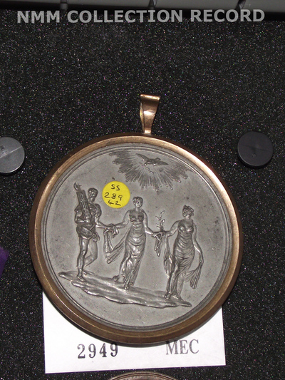 Medal commemorating peace in Europe, 1814