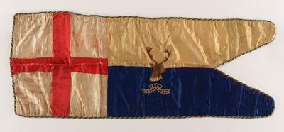 Image from object titled Sledge flag, Robert Falcon Scott
