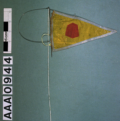 Image from object titled Burgee, Chapman Sands Sailing Club, Canvey Island