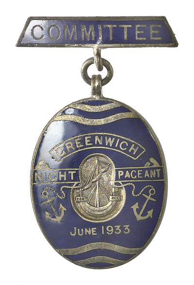 Badge of the Greenwich Pageant, 1933