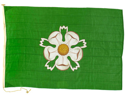 Image from object titled House flag, North Yorkshire Shipping Co. Ltd