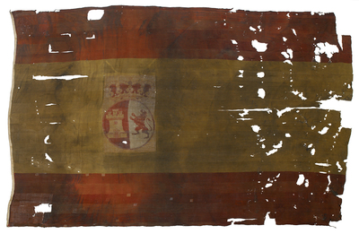 Image from object titled Spanish naval ensign (1785-1931)