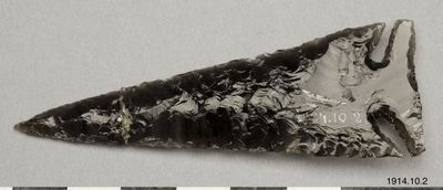 pilspets, arrowhead