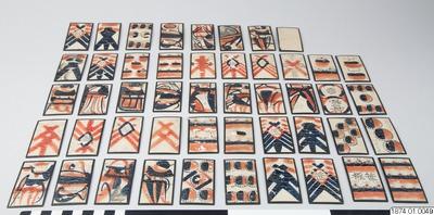 Image from object titled spelkort, karuta@jpn