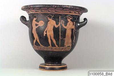 Image from object titled Bell krater.