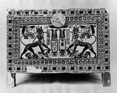 Image from object titled Tutankhamun, arkeologi, Photograph