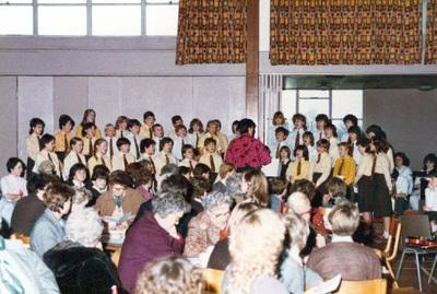 The Park High School choir.