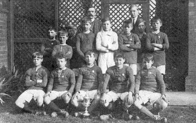 Brotherton football team.
