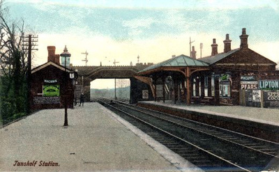 Tanshelf Station and Bridge, Pontefract.