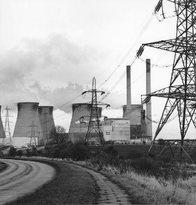 Image from object titled Ferrybridge C Power Station looking from Castlefrod area.
