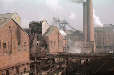 Image from object titled Hemsworth Colliery Coke Ovens, Fitzwilliam, 1960 to 1975.
