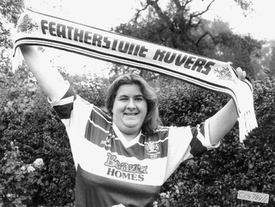 Image from object titled Rachel Timpson, the Featherstone Rovers Queen. Photograph courtesy of the Pontefract and Castleford Express.