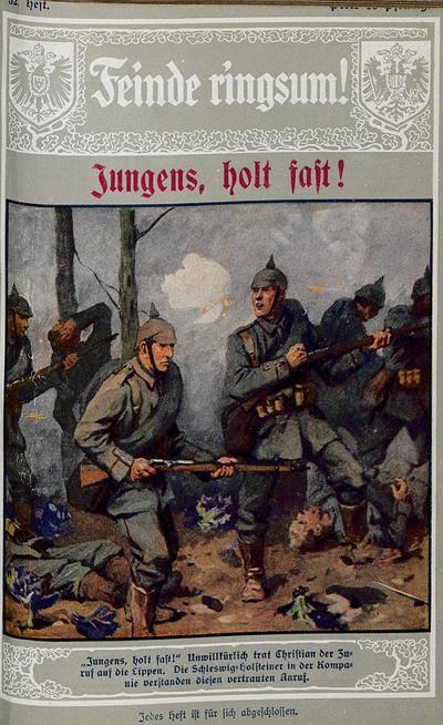 Image from object titled Jungens, holt fast! Erzählung