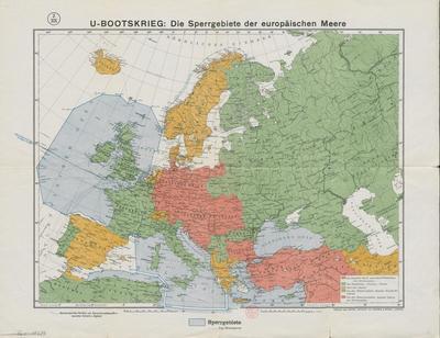 Image from object titled U-Bootskrieg die Sperrgebiete der europäischen Meere