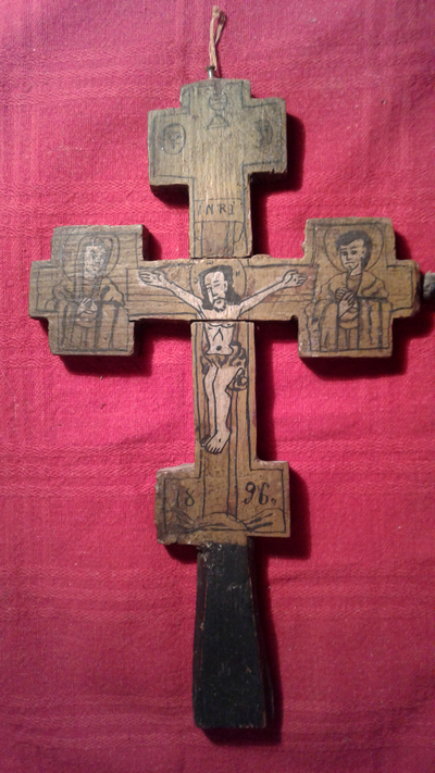 Image from object titled Crucea norocoasa a bunicului meu
