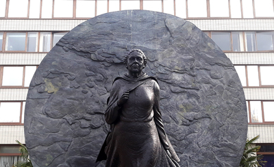 Image from object titled Statue of Mary Seacole