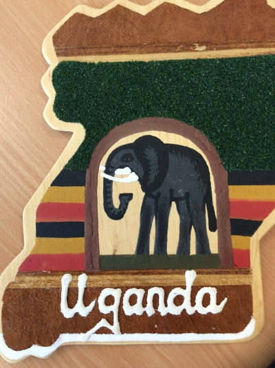 Image from object titled My map of Uganda
