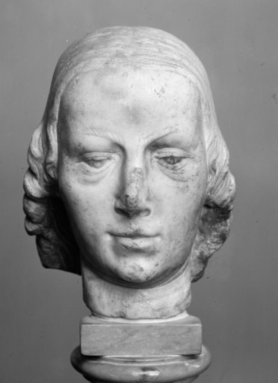 Head of a Woman. Fragment of a Statue
