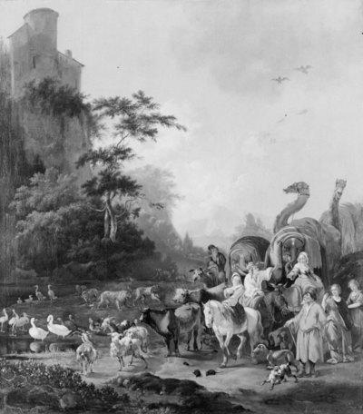 Noah Leaving the Ark