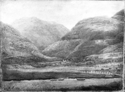 Sketch from Parish in Norway