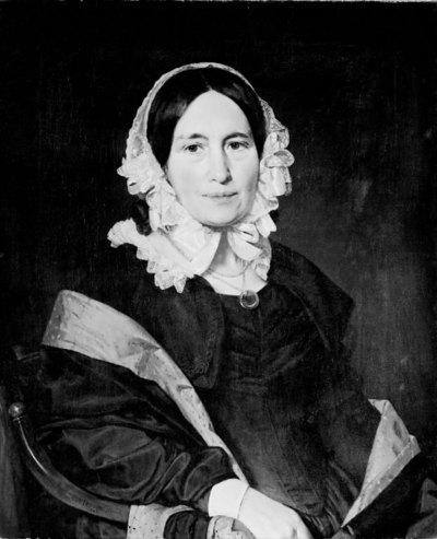 Cathrine Jensen, née Lorenzen, the Artist's Wife