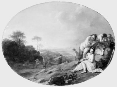 Nymphs in a Landscape