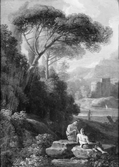 Italian Landscape with Figures
