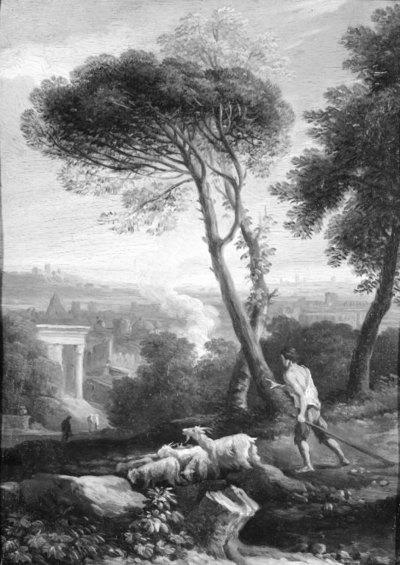 Italian Landscape with Shepherds