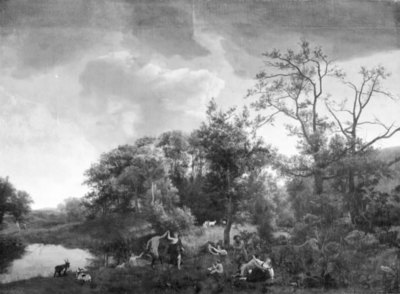 Landscape with Fauns and Nymphs