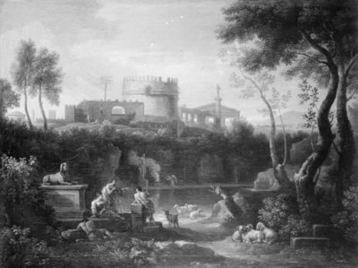 Landscape with the Tomb of Cecilia Metella