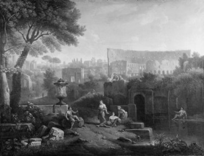 Landscape with the Colosseum and the Arch of Constantine