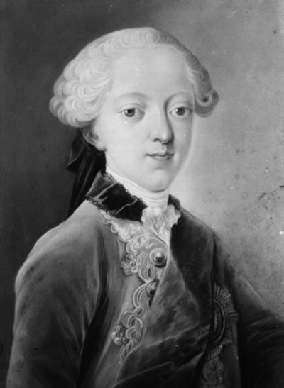 Kong Frederik VI som barn