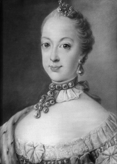 Dronning Sophie Magdalene af Sverige, som prinsesse