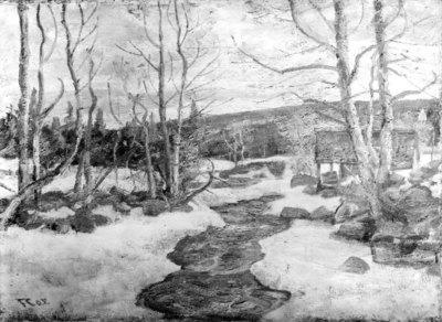 April at Lillehammer