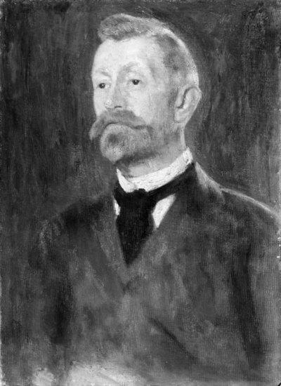 Portrait of Hans Christian Andersen Bekkevahr