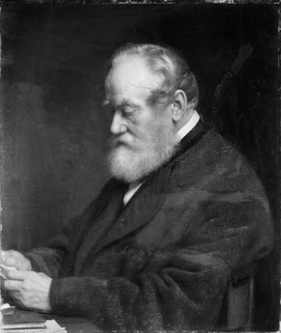 Toldkontrollør Johan Henrik Ludvig Olrik, kunstnerens fader