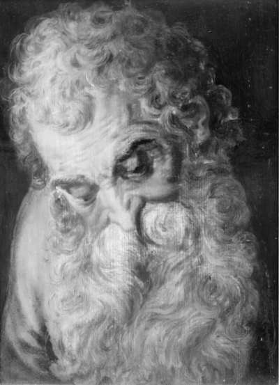 Image from object titled An Old Man's Head