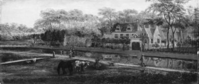 View of the Country House Oversteen