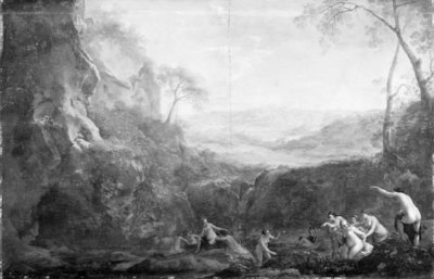 Landscape with Diana and Nymphs