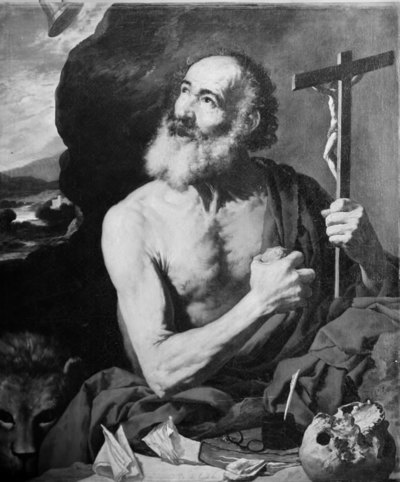 Image from object titled The Penitent St. Jerome