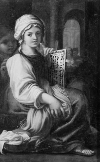 Image from object titled Girl with a Hornbook