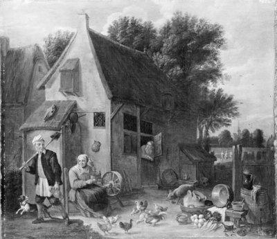 Flemish Peasant Family