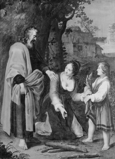 The Prophet Elisha and the Shunamite Woman