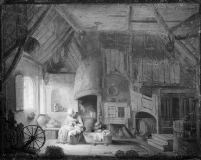Room in a Dutch Peasant Cottage
