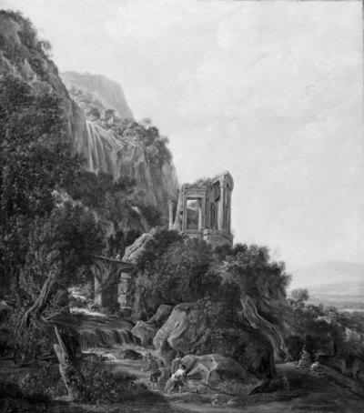 Cascatellen ved Tivoli